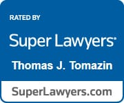 Thomas J. Tomazin Super Lawyers Badge